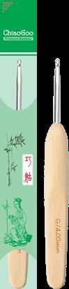 Крючок бамбуковый с металлической головкой
