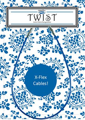 Леска twix x-flex blue cable