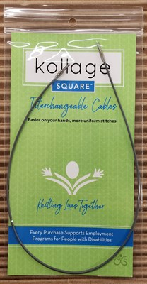 Леска Kollage для разъемных спиц, мягкая YELLOW