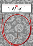 Леска TWIST Red Cable Small
